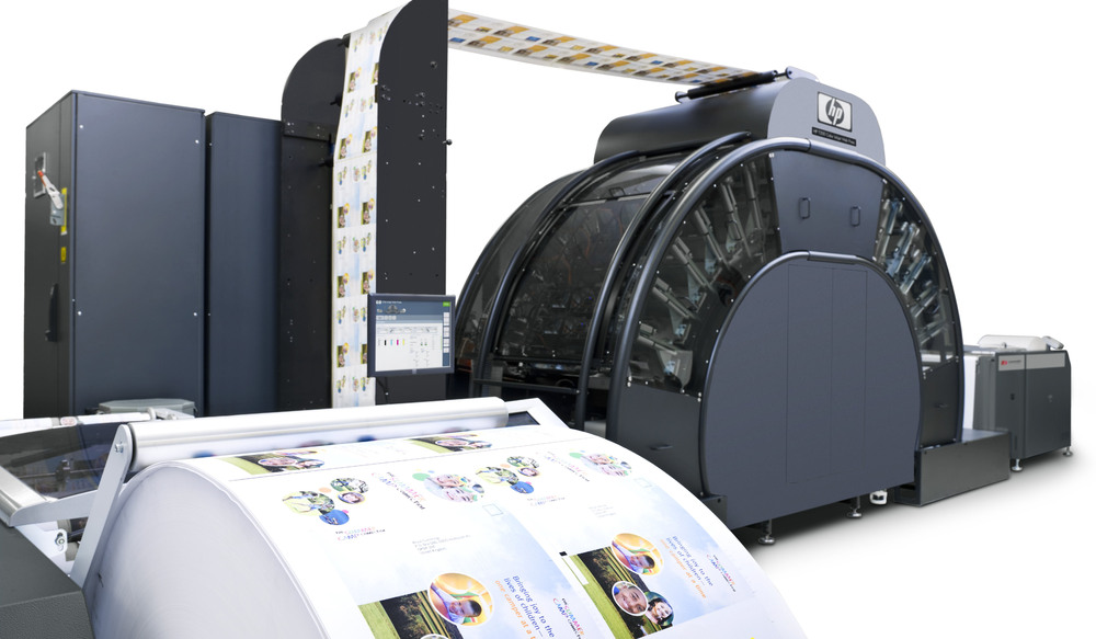 HP T230 Color Inkjet Web Press