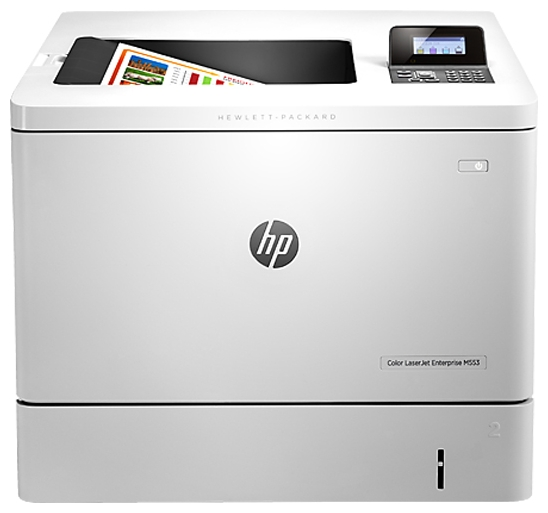 Принтер HP Color LaserJet Enterprise M553n B5L24A