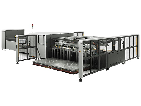 HP Scitex 15000 Corrugated Press CX110A