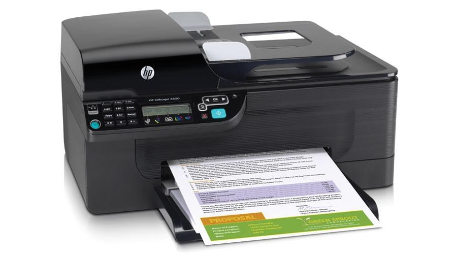 МФУ HP Officejet 4500 Wireless All-in-One CN547A