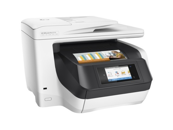 HP Officejet Pro 8730 e-All-in-One