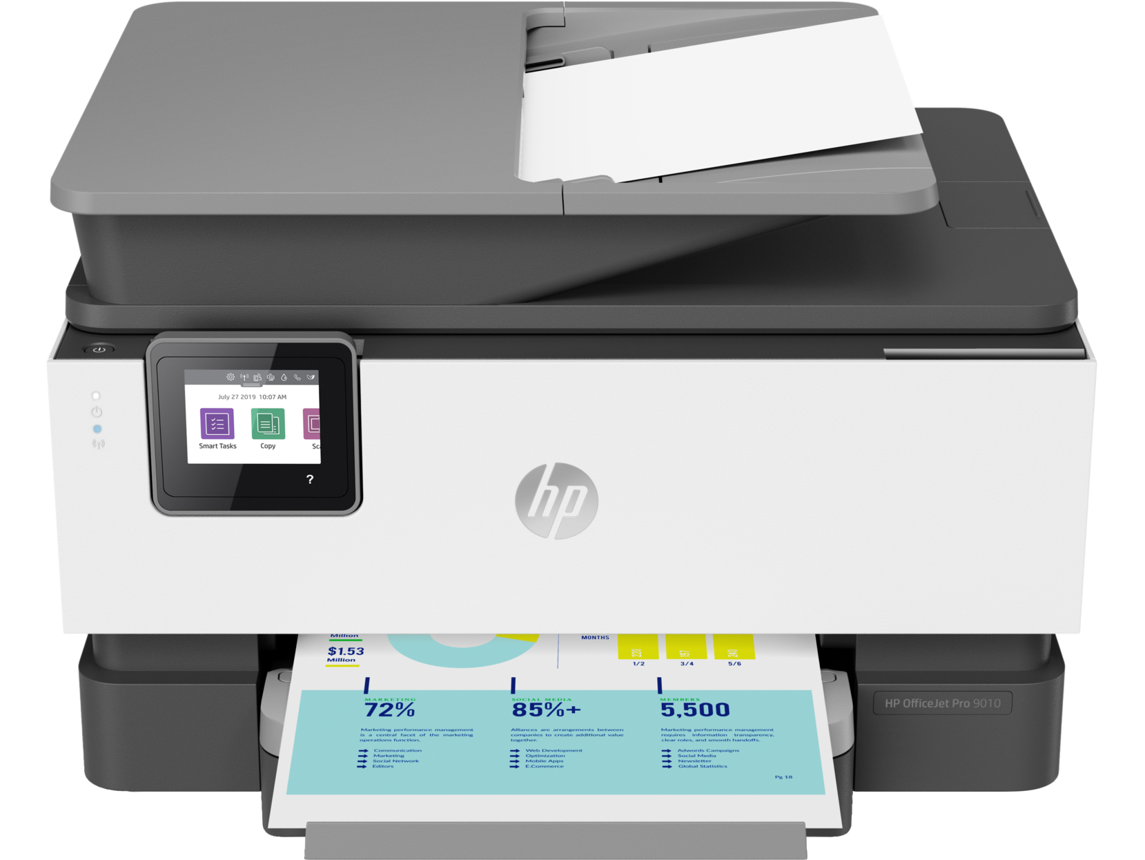 МФУ HP OfficeJet Pro 9010 3UK83A