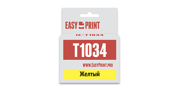 Картридж Easyprint IE T1034 Желтый  IE-T1034