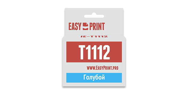 Картридж Easyprint IE T1112 Голубой  IE-T1112