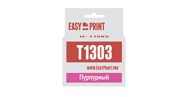 Картридж Easyprint IE T1303 Пурпурный  IE-T1303