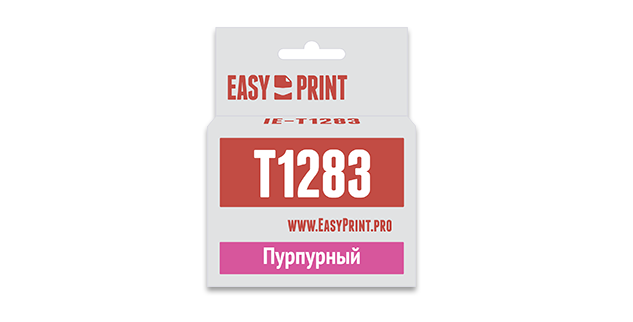 Картридж Easyprint IE T1283 Пурпурный  IE-T1283