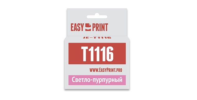 Картридж Easyprint IE T1116 Светло-пурпурный  IE-T1116