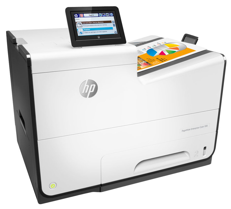 Принтер HP PageWide Enterprise 556dn G1W46A