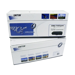 Картридж UNITON Premium Cartridge 718C синий  5192260000