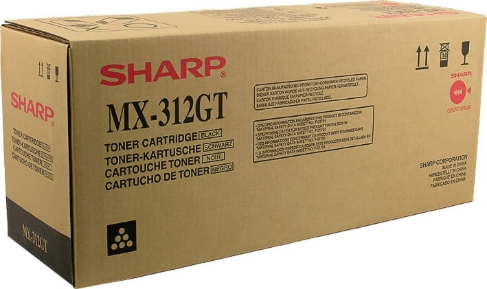Тонер-картридж Sharp MX-312GT MX312GT